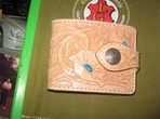 Wallet:cow leather(Folded size 11x10cm)